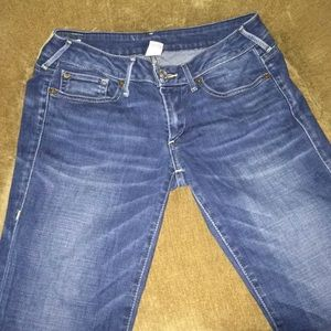 True religion Karlie low rise bell bottom jeans